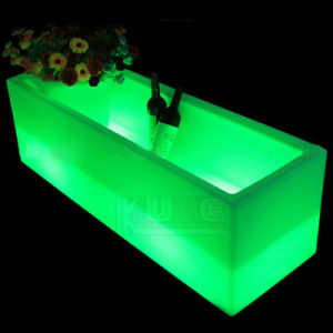 Illuminated Cube Pots Illuminated Planter for Hotel Resturant pictures & photos
