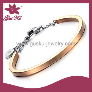 Latest Design 24k Gold-Plated Lady Bracelet Jewelry (2015 Gus-Sbl-013)