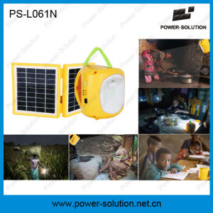 Cheapest Hight Qualified Solar Lantern with Mobile Phone Charging and Reading Light pictures & photos