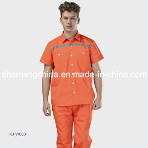 New Short Sleeves Safety Working Uniform