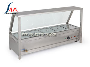 4 Pans /5 Pans /6 Pans Bain Marie Showcase, Food Heater, Bain Marie Counter pictures & photos