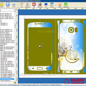 Daqin Design Software for Cellphone Stciker pictures & photos