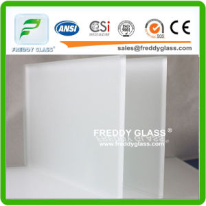 12mm Frosted Door Glass/ Bathroom Glass/Acid Etched Glass pictures & photos