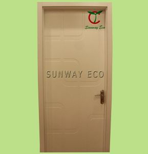 Cheap Waterproof WPC Door Interior Door (TCD-07)