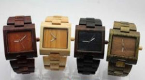 New Style Hot Sale Cheap Men′s Wrist Watches Fatory Price Couple′s Wooden Wrist Watch