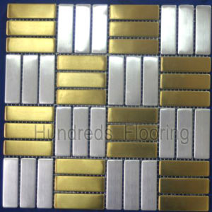 Mosaic Tile Stainless Steel Metal Mosaic (SM217) pictures & photos