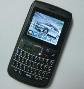 Tri SIM Card Mobile Phone, With Qwerty Keyboard and TV