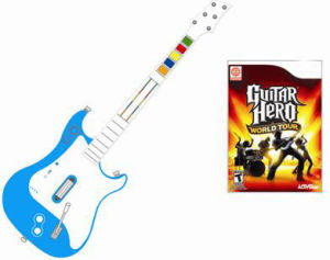 All In 1 Wireless Guitar Controller for Wii Gh& Rb Series