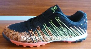 New Design Turf Shoes with Antiskid and Breathable (DH-3572)