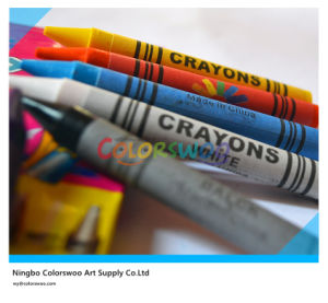 12 Colors 1.1*10cm Classic Non-Toxic Crayons for Students and Kids pictures & photos