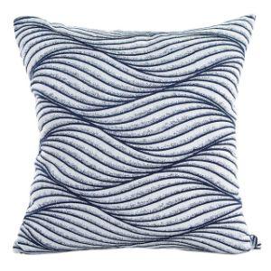 Hot Sale Printed Home Sofa Ripple Waist Throw Cushion Cover