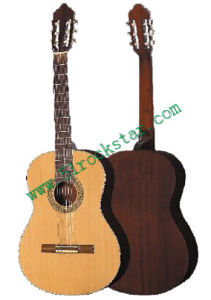 39′′ Acoustic Guitar Spruce Wood Body
