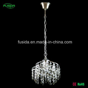 High Quality Crystal Iron E27 Pendant Lighting for Hotel/Home/Bedroom pictures & photos