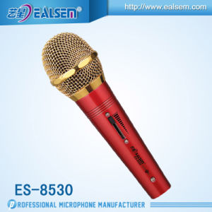 Computer Studio USB Microphone Series Es-8530 (Red/Black)