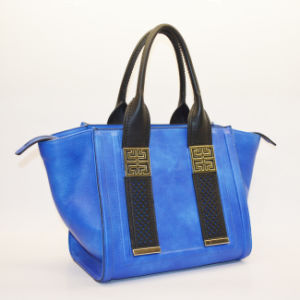 SD 297 Blue Trend Classic Satchel Bag