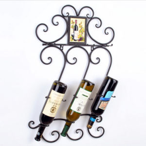 Fashionable Wine Rack Metal Display Rack Wine Shelf Decorative Rack pictures & photos