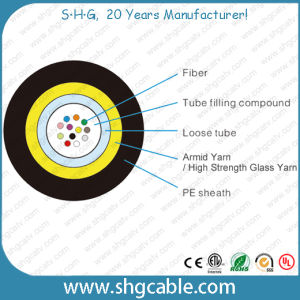 Unitube All Dielectric Fiber Optic Cable (GYFXTY) pictures & photos