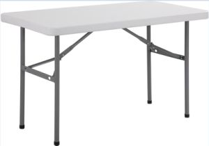 4FT/122cm High Quality Plastic Rectangle Folding Table