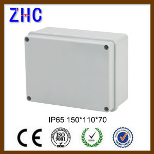 120*80*50 Waterproof Outdoor ABS Plastic Enclosure Junction Box with Screw-Down Coner pictures & photos