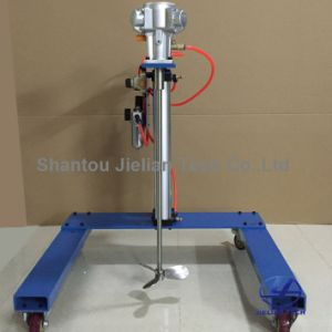 Manual Operation Lifting Air-Operated Ink, Glue Agitator