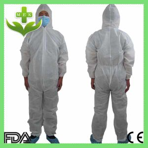 Disposable Plastic Waterproof PP Non Woven Coveralls pictures & photos