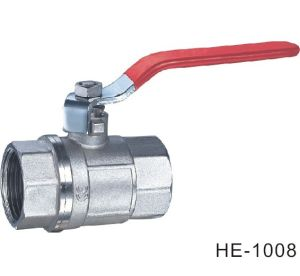 (HE1008--HE1009) Brass Ball Valve Pn30 with Level Handle for Water, Oil
