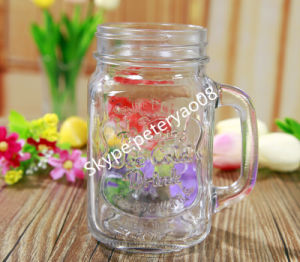 0.6L Glass Juice Bottle with Click Ceramic Lid pictures & photos
