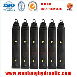 Multi Stage Telescopic Hydraulic Cylinder for Dump Truck pictures & photos