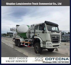 Sinotruk HOWO 5-10m3 Heavy Duty Concrete Mixer Truck pictures & photos