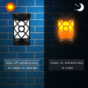 Outside Patio Garden Solar Wall Light Decoritave Waterproof IP65