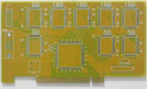 Fr4 1.6mm 4 Layer Multilayer PCB Assembly Printed Circuit Board Golden Finger PCBA Manufacturer
