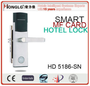 Hotel Card Handle Lock Electronic Hotel Lock pictures & photos
