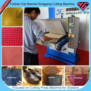 Hot Sale Plane Hydraulic Leather Bag Press Embossing Machine (HG-E120T) pictures & photos