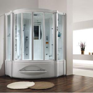 China Monalisa Bathroom Design Steam Shower Room with Massage Tub M