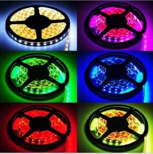 IP65 Wateproof 5050 SMD Strip Lights High Lumen 72W 12V Underwater Ribbon Strip Light