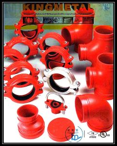 FM/UL Approved Fire Fighting Ductile Iron Grooved Pipe Fitting pictures & photos
