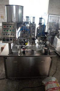 Collapsible Aluminium Tube Filling and Sealing Machine for Cream, Artist Paint, Ointment pictures & photos