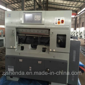 Factory Direct Sale 920mm Double Hydraulic Computerized Paper Cutting Machine pictures & photos