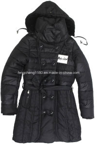 Women′s Winter Padding Jacket/Coat with Detachable Hooded