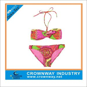 Women′s Flower Printing Bikini with Plus Size pictures & photos