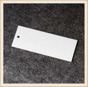 clothing label with logo printing garment hang tag template china