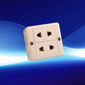 2 Gang European Wall Socket