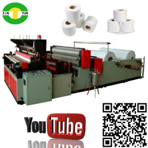 High Speed Auto Rewinding Toilet Tissue Machine Price pictures & photos