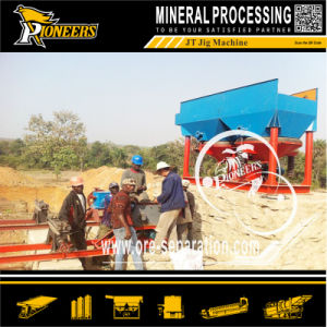 Alluvial Ore Enrichment Washing Vibrating Equipment Gold Jigger Separator Factory