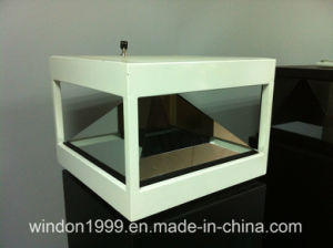 4-Sided 360 Degree Inverted Pyramid Hologram Display Showcase pictures & photos