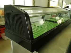 Commercial Single Layer Sushi Display Refrigerator Showcase pictures & photos