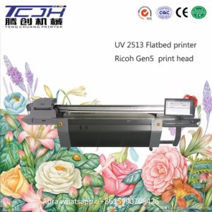 Wide Format Flatbed Color Inkjet Printing Machine