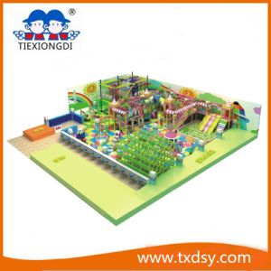 Kid Indoor Soft Playground, Indoor Playground Set pictures & photos
