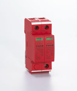 40ka Class C 220V N-PE Three Phase Surge Protector pictures & photos