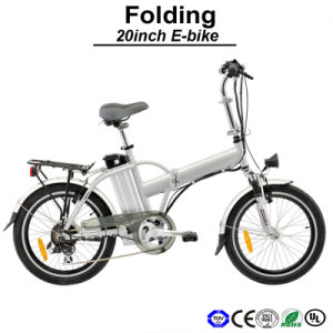 Light Weight Aluminum E-Bike Mini Electric Bicycles Electric Bike (TDN01Z) pictures & photos